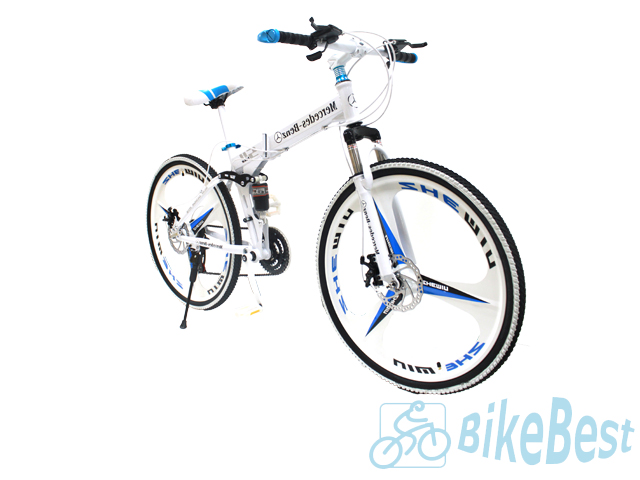 Велосипед Mercedes-Benz SH bike white